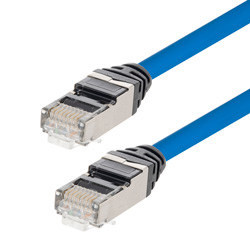 Cat6 and Cat6a Plenum Patch Cords