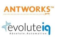 AntWorks Logo & EvoluteIQ Logo