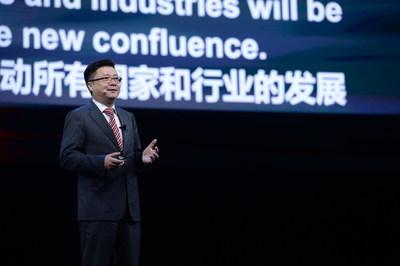 Edward Deng, presidente de mercado global da HUAWEI CLOUD (PRNewsfoto/HUAWEI CLOUD)