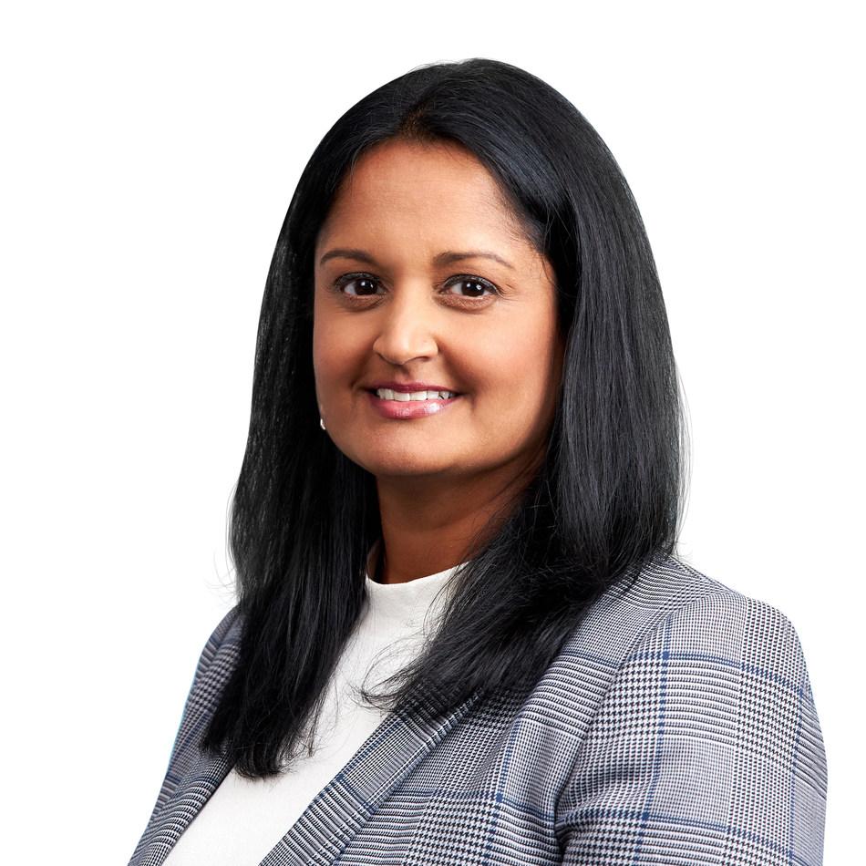 Sonal Patel, Managing Director, Head of Sales – Americas, Bermuda and Caribbean.