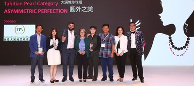 Champion Alessio Boschi (third from left) and Merit recipient Eugene YJ Chen (fourth from right)