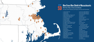 Service Day 2019 Locations