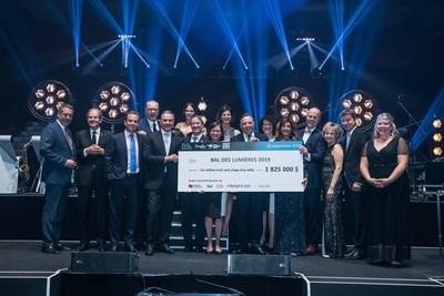 Bal des lumières 2019 (CNW Group/Fondation de l'Institut universitaire en santé mentale de Montréal)