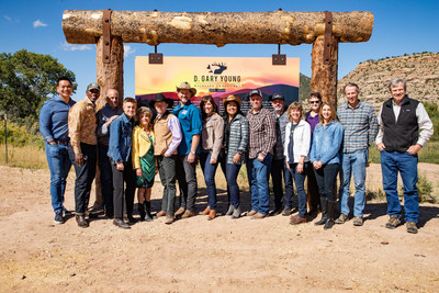 The Nature Conservancy With The Young Living Executive Team.