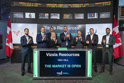 Vizsla Resources Corp. Opens the Market (CNW Group/TMX Group Limited)