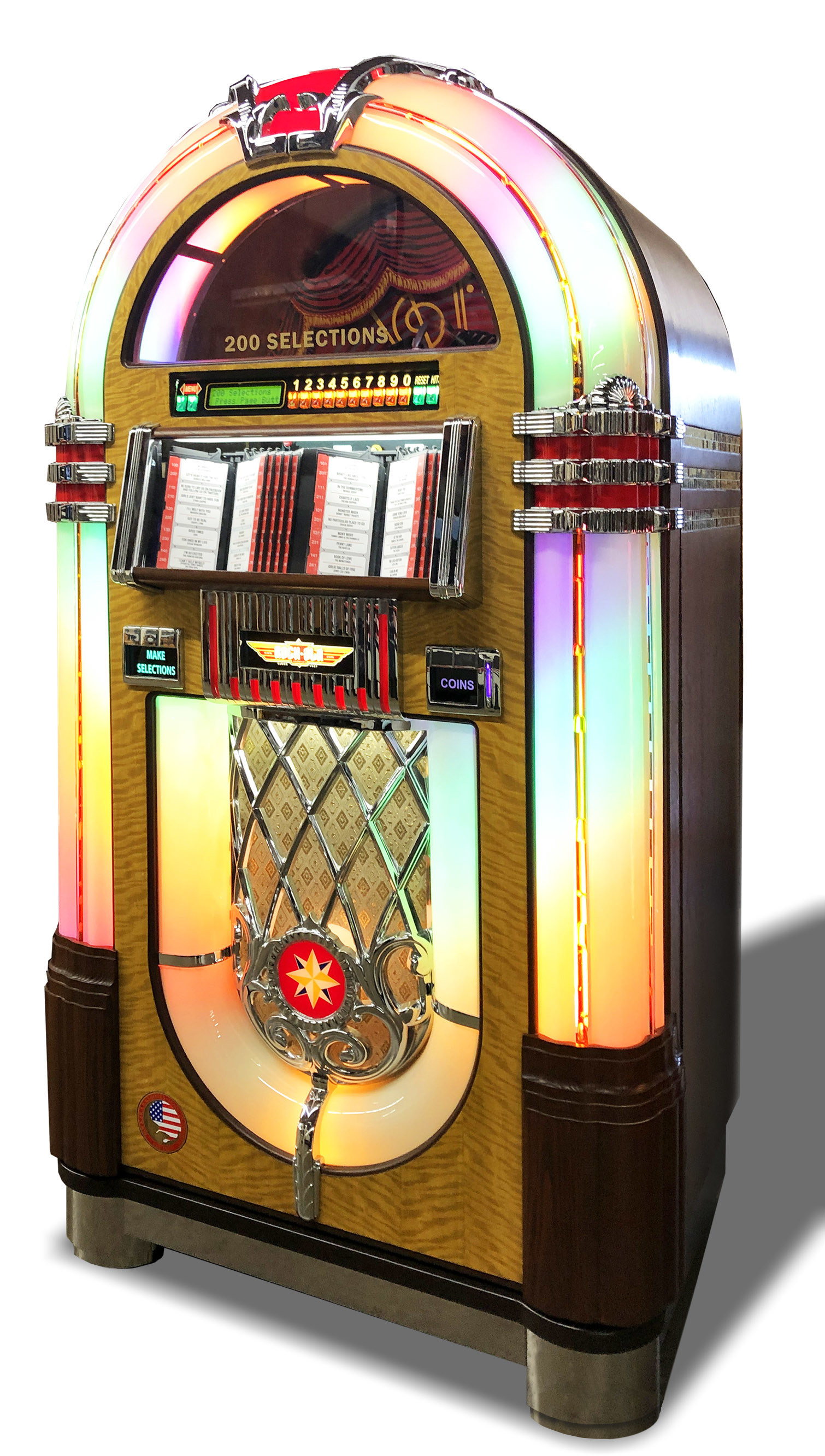 Yes, Please! Rock-Ola Produces the Vinyl Record Collector's Dream Jukebox