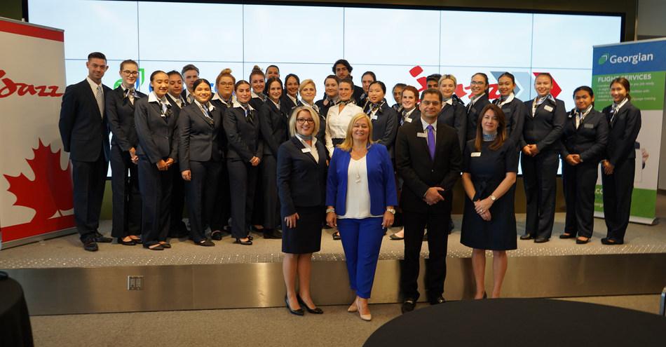 Jazz lance le programme La Passerelle Jazz pour les agents de bord (Groupe CNW/Chorus Aviation Inc.)