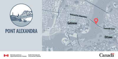 Pont Alexandra (Groupe CNW/Services publics et Approvisionnement Canada)
