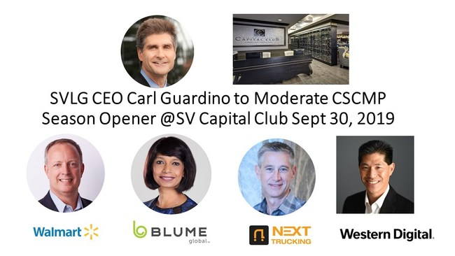 At San Jose's beautiful Silicon Valley Capital Club, join CSCMP Silicon Valley/SF for its season kickoff, in the popular Churchill club format, which both entertains and informs.