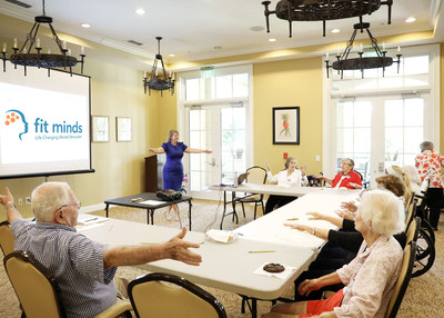 Fit Minds, a revolutionary treatment for Alzheimer's and dementia patients, offers life-changing cognitive stimulation therapy to seniors in Illinois and Florida.