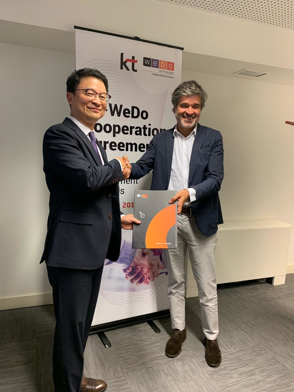 KT and WeDo Technologies collaborate on using Artificial Intelligence to detect fraud