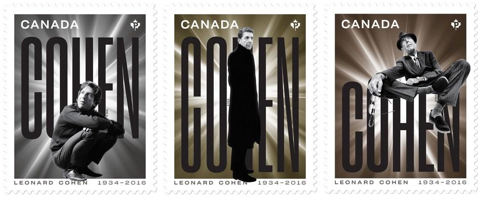 Leonard Cohen (CNW Group/Canada Post)