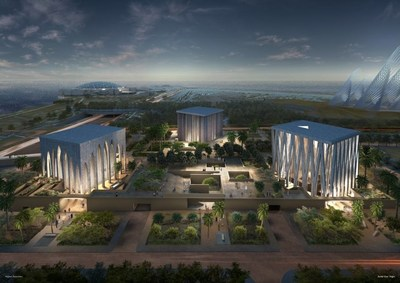 The Abrahamic Family House, to be built in Abu Dhabi, UAE (PRNewsfoto/The Higher Committee for Human )