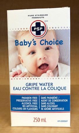 Eau contre les coliques Baby's Choice (Groupe CNW/Santé Canada)