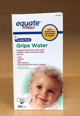 Eau contre les coliques Equate (Groupe CNW/Santé Canada)