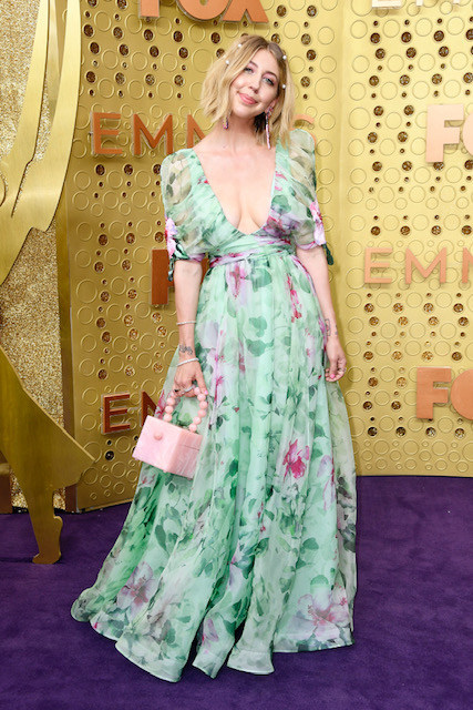 Heidi Gardner attends the 71st Emmy Awards at Microsoft Theater on September 22, 2019 in Los Angeles, California. (Photo by Frazer Harrison/Getty Images) (PRNewsfoto/Badgley Mischka)