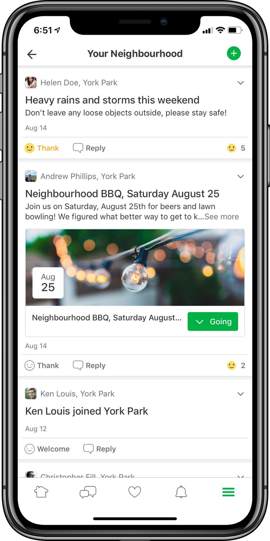 Nextdoor, the world's largest private network for neighbours, is officially available in Canada (CNW Group/Nextdoor)