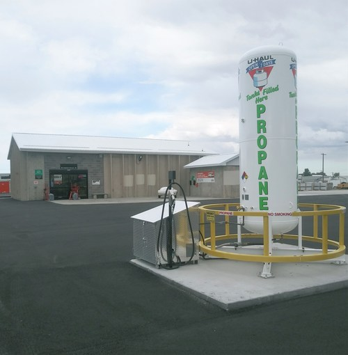U-Haul is now supplying propane for autogas vehicles and cylinders of all sizes at its store in Casper.