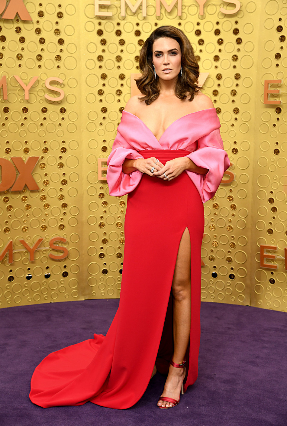 Mandy Moore sparkles in Forevermark at the 71st Emmy Awards.