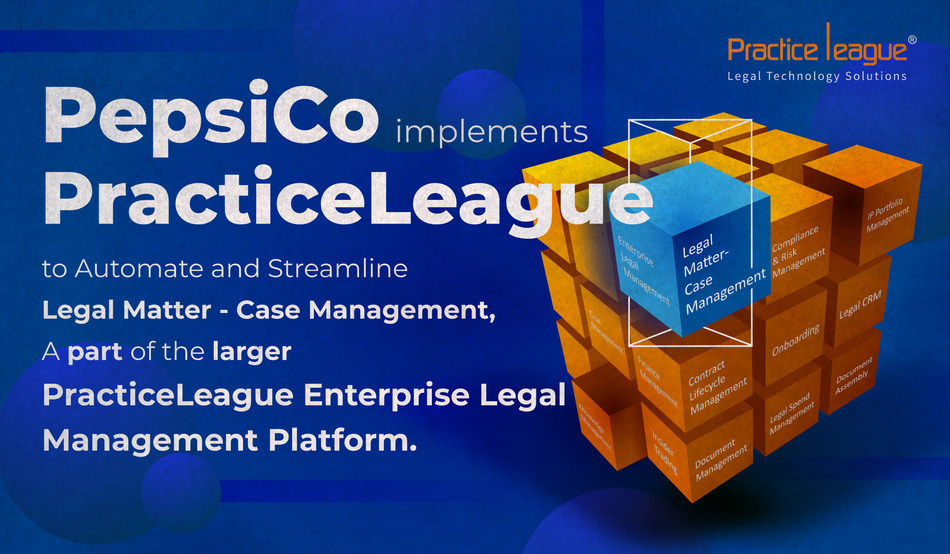 PepsiCo implements PracticeLeague to Automate and Streamline Case Management
