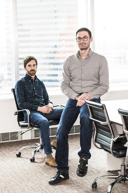 Bold Penguin Founders Ben Clark and Ilya Bodner