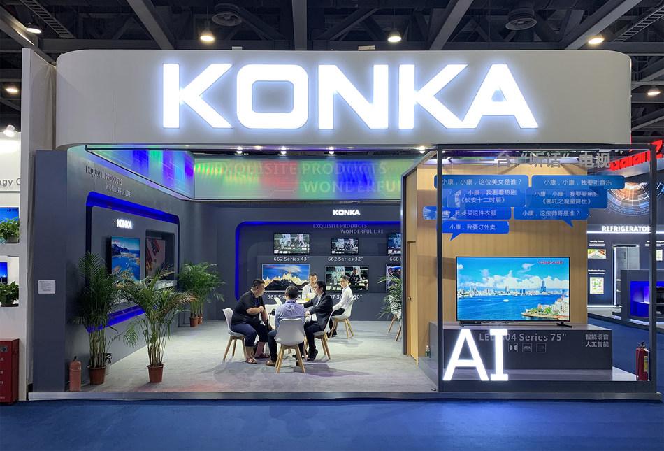 KONKA's booth at CE China 2019