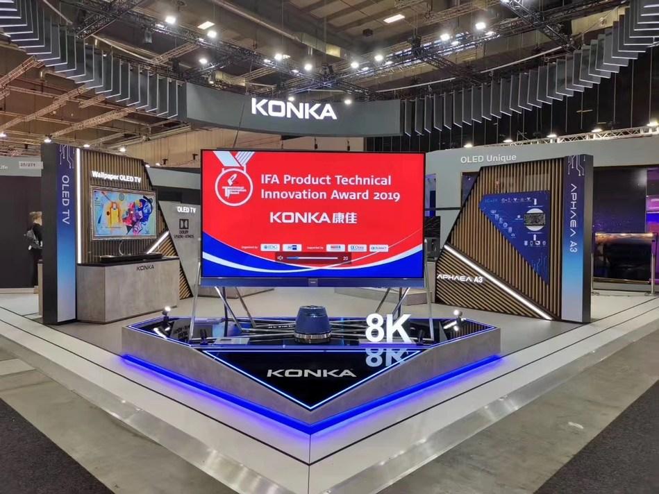 KONKA's 8K TV (PRNewsfoto/KONKA)