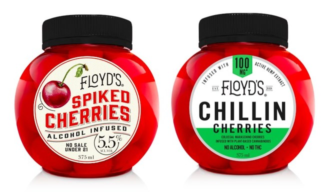 Floyd's Spiked: Set to Debut Spiked & Chillin CBD Cherries
