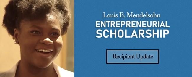 Entrepreneurial Scholarship