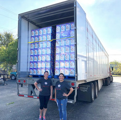 The Austin Diaper Bank welcomed a donation of 300,000 Huggies diapers in recognition of National Diaper Need Awareness Week. It marked the largest donation in the Austin Diaper Bank's history.