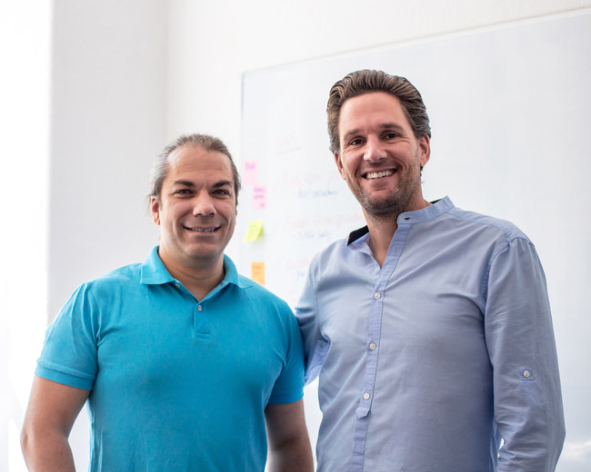 cruisewatch.com Co-Founders Titus (CTO) and Markus (CEO)