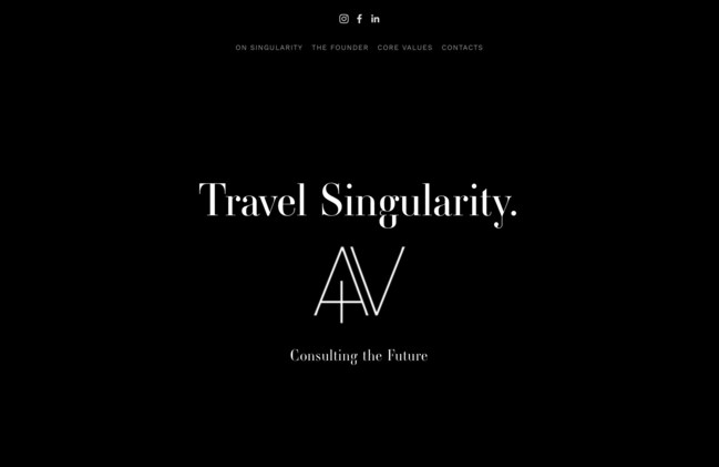 Travel Singularity Home Page. Agency for hotels and travel technology companies founded by Simone Puorto