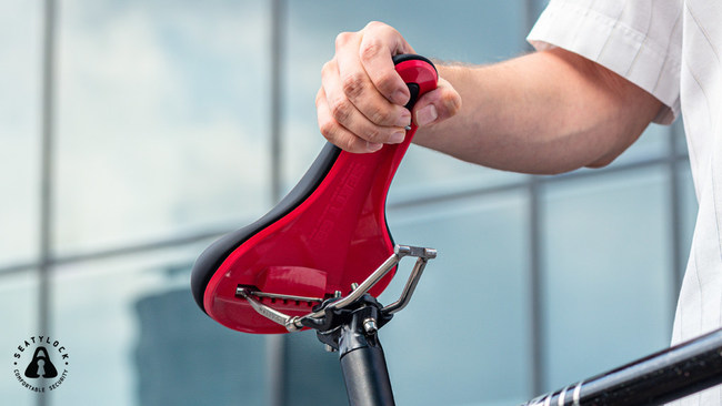 An innovative bike seat that will ensure a saddle always remains safe and dry