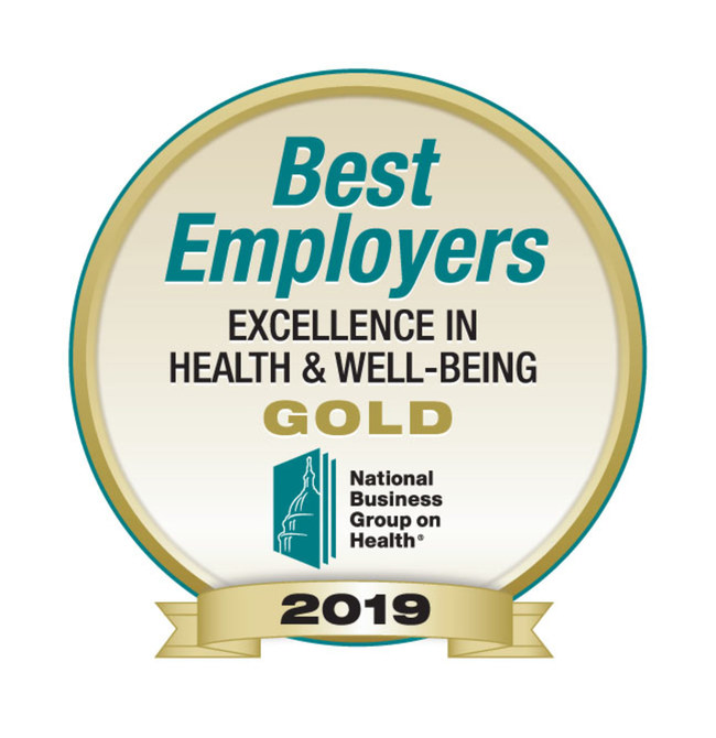 2019 marks the eighth time Paychex has been honored by the National Business Group on Health for excellence in employee health and well-being.