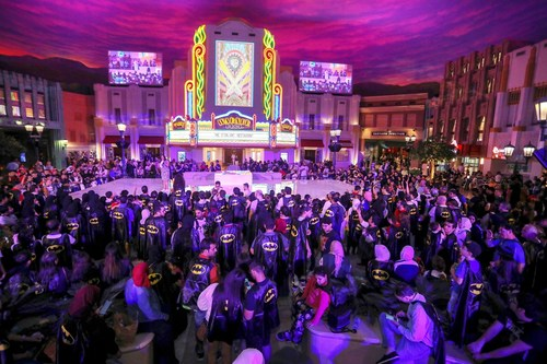 Fans gather at Warner Bros. World Abu Dhabi to celebrate Batman's 80th anniversary