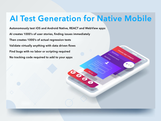 AI Test Generation for Native Mobile