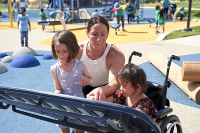 Creating a Way for All to Play: Liberty Mutual and the City of Plano, Texas Unveil City's New Universally Accessible Playground